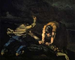 The Murder — Поль Сезанн