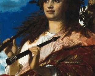 The Muse of Anacreon — Арнольд Бёклин