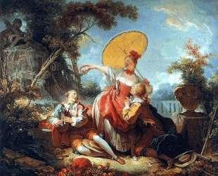 The Musical Contest — Жан-Оноре Фрагонар