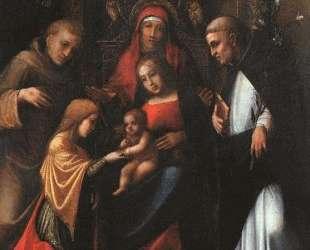Мистическое обручение святой Екатерины — Корреджо