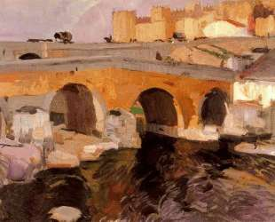 The Old Bridge of Avila — Хоакин Соролья