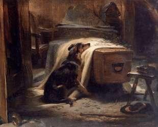 The Old Shepherd's Chief Mourner — Эдвин Генри Ландсир
