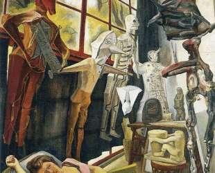 The Painter's Studio — Диего Ривера