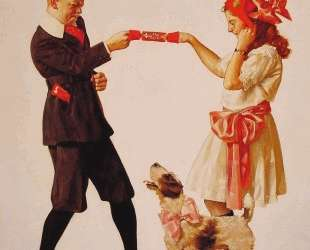 The Party Favour — Норман Роквелл