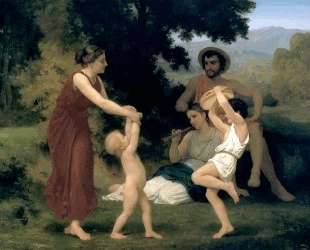 The Pastoral Recreation — Вильям Адольф Бугро