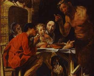 The Peasants and the Satyr — Якоб Йорданс