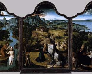 The Penitence of Saint Jerome — Иоахим Патинир