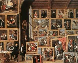 The Picture Gallery of Archduke Leopold Wilhelm — Давид Тенирс Младший