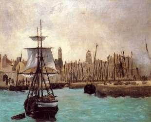 The Port of Bordeaux — Эдуард Мане