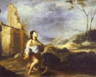 The Prodigal Son Feeding Swine — Бартоломе Эстебан Мурильо