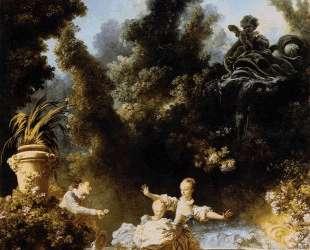 The Progress of Love The Pursuit — Жан-Оноре Фрагонар