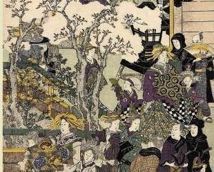 The Promenade — Утагава Тоёкуни
