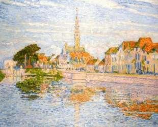The Quay at Verre, Zeeland — Тео ван Рейссельберге