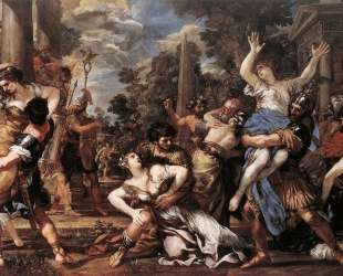 The Rape of the Sabine Women — Пьетро да Кортона