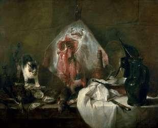 The Ray or, The Kitchen Interior — Жан Батист Симеон Шарден
