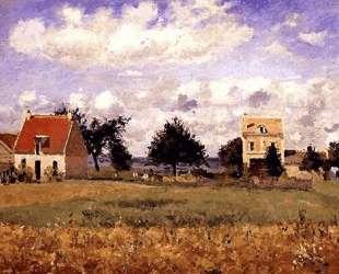 The Red House — Камиль Писсарро