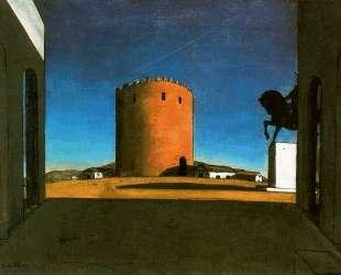 Красная башня — Джорджо де Кирико