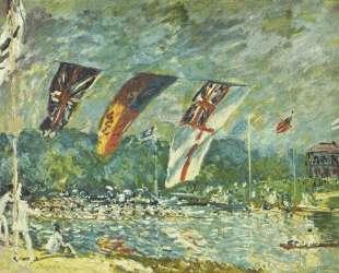 The regattas Moseley — Альфред Сислей