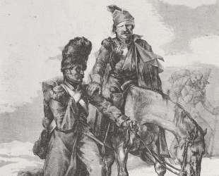 The Return from Russia — Теодор Жерико
