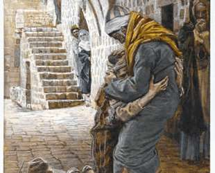 The Return of the Prodigal Son, illustration for 'The Life of Christ' — Джеймс Тиссо