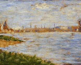Берега реки — Жорж Сёра