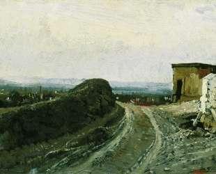 Дорога на Монмартр в Париже — Илья Репин