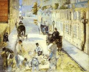 The road-menders, Rue de Berne — Эдуард Мане