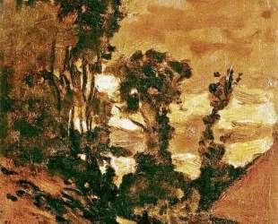 Дорога на ферму Сен-Симон — Клод Моне