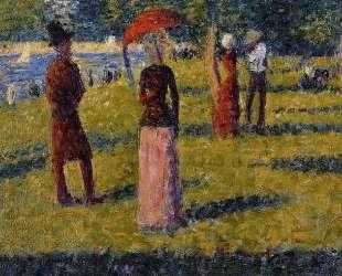 Цветная юбка — Жорж Сёра