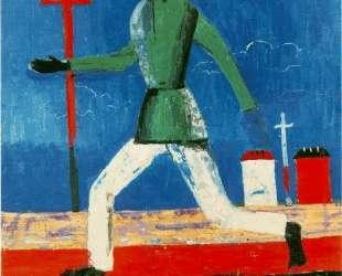 The Running Man — Казимир Малевич