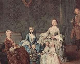 Портрет семьи Сагредо — Пьетро Лонги