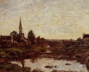 The Saint-Simeon Farm — Эжен Буден