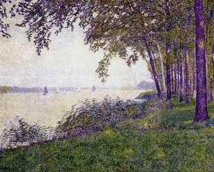 The Schelde Upstream from Antwerp After Fog — Тео ван Рейссельберге