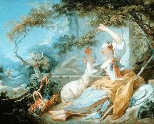 The Shepherdess — Жан-Оноре Фрагонар