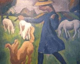 The shepherdess. Spring Marie Child — Роже де ла Френе