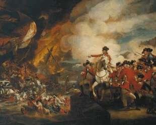 Осада и освобождение Гибралтара — Джон Синглтон Копли