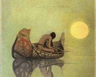 The Silent Fisherman — Ньюэлл Конверс Уайет