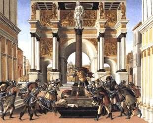 История Лукреции — Сандро Ботичелли