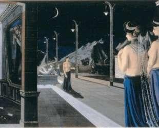 Улица ночью — Поль Дельво