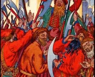 Стрелецкий бунт — Иван Билибин
