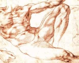 The Study of Adam — Микеланджело
