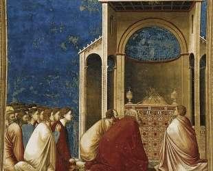The Suitors Praying — Джотто