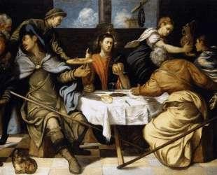 The Supper at Emmaus — Тинторетто