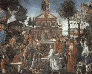 Искушение Христа — Сандро Ботичелли