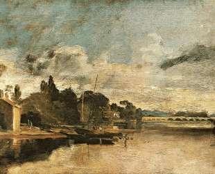 The Thames near Walton Bridges — Уильям Тёрнер
