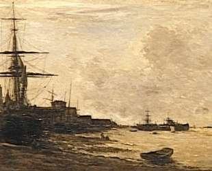 Темза в Эрит — Шарль-Франсуа Добиньи