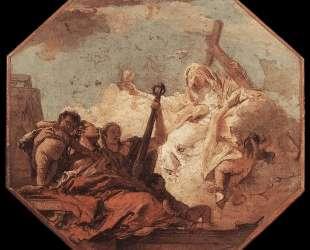 The Theological Virtues — Джованни Баттиста Тьеполо