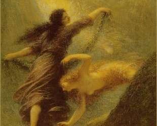 The Three Rhine Maidens — Анри Фантен-Латур