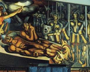 The Torment of Cuauhtemoc — Давид Альфаро Сикейрос