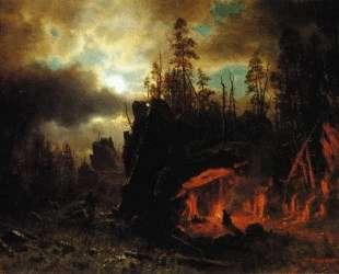The Trapper's Camp — Альберт Бирштадт